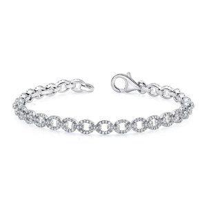 2 Ct Diamond Tennis Women Bracelet